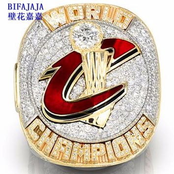 BIFAJAJA Drop Shipping 2016 the Cleveland cavaliers basketball championship ring size MVP LeBron James