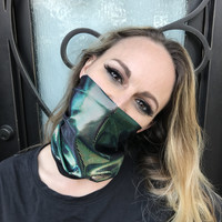 Chameleon Rave Face Mask