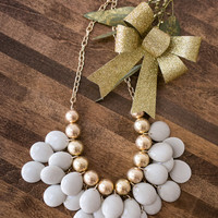 Angie Grey Statement Necklace