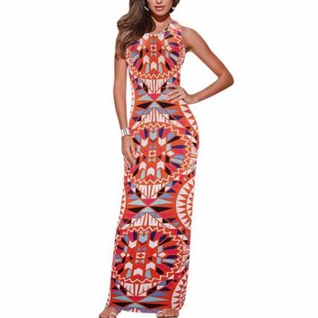 Women Summer Sexy Maxi Bodycon Dress