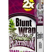 Blunt Wrap Double platinum x2 – Grape a licious