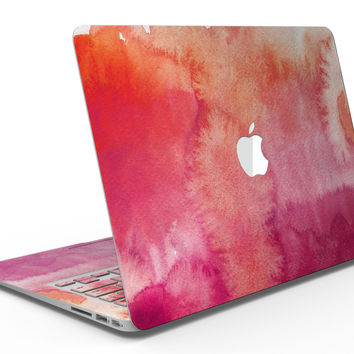 Pink 971 Absorbed Watercolor Texture - MacBook Air Skin Kit