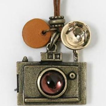 Fashion vintage camera necklace long necklaces women charm pendants & Necklaces woman jewelry big discount hot
