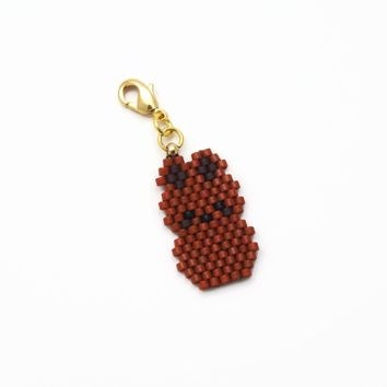 Chocolate Bunny Charm For Planners Or Decor