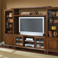 Hillsdale Grand Bay Large Entertainment Wall Unit