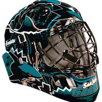 San Jose Sharks Street Hockey Mask
