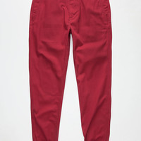 Levi's Mens Chino Jogger Pants Tibetan Red  In Sizes