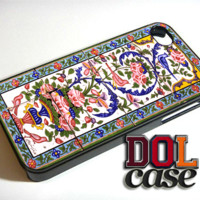 ANCIENT Floral Tiles Middle Eastern Pattern Boho iPhone Case Cover|iPhone 4s|iPhone 5s|iPhone 5c|iPhone 6|iPhone 6 Plus|Free Shipping| Consta 132
