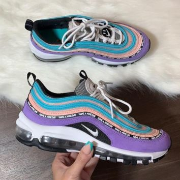 Nike Air Max 97 Space Purple Casual Running Sport Shoes Sneakers