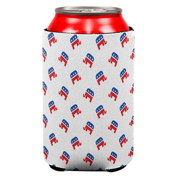 Republican All Over Can Cooler