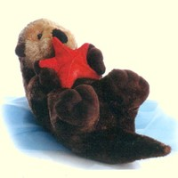 Aurora Sea Otter Stuffed Animal