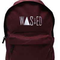 wasted back pack