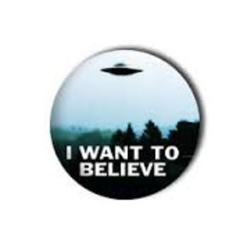 X-Files I Want To Believe Pin