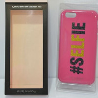 Victoria's Secret Pink Flex and Protect #Selfie Hard Case iPhone 6