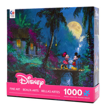 disney coleman mickey & minnie moonlight proposal 1000 pcs puzzle new with box