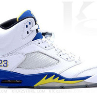 Air Jordan Big Kid's GS Retro 5 V Laney 2013