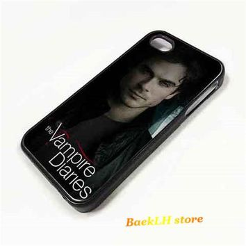 DAMON SALVATORE The Vampire Diaries   cell phone case cover for iphone 4 4S 5 5S Se 5C 6 6 plus 6s 6s plus 7 7 plus &aa137