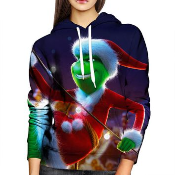 The Grinch Smile Womens Hoodie