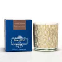 Karen Klein Florence Collection - Italian Jasmine & European Bamboo Candle