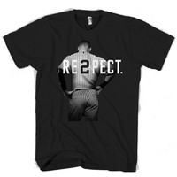 Respect Derek Jeter Re2pect T Shirt Men