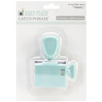 October Afternoon Daily Flash Catch Phrase Roller Stamp, Volume 1 Travel