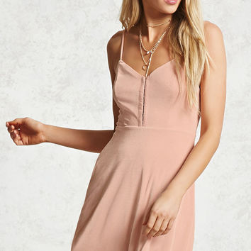 Hook-Eye Cami Dress