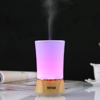 EiioX 150ml Aromatherapy Essential Oil Purifier Diffuser Ultrasonic Aroma Diffuser Cool Mist Humidifier with Auto Shut off