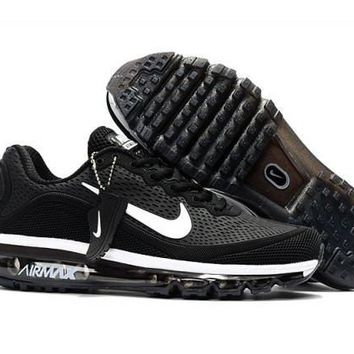 Nike Air Max 2017. 5 KPU Black & White unisex Running Shoes Sneakers