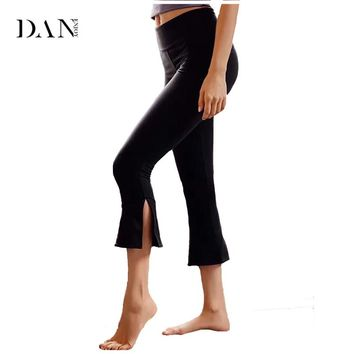 Women's Sports Fitness Yoga Pants Functional Gym Running Workout Pant Running Sexy Bell Bottom Pants Quick-drying Leggings C149