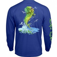 Mahi Explosion Long Sleeve Pocket Tee