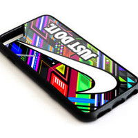 Best NIKE.Just do it Colourfull iPhone 7 7+ 8 8+ Hard Plastic Case Cover
