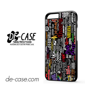 Metal Band Logo Metallica Sticker Bomb ACDC DEAL-7071 Apple Phonecase Cover For Iphone 6 / 6S