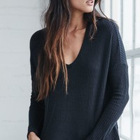 Me To We Eco Thermal Long Sleeve Top - Womens Tees