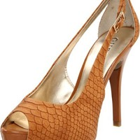 GUESS Women's Hondo3 Open-Toe Pump