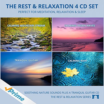 The Rest & Relaxation 4 CD Set - Perfect For Meditation, Relaxation And Sleep