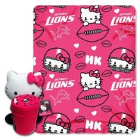 Detroit Lions Hello Kitty Hugger
