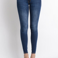 Super Skinny Dark Denim Jeans