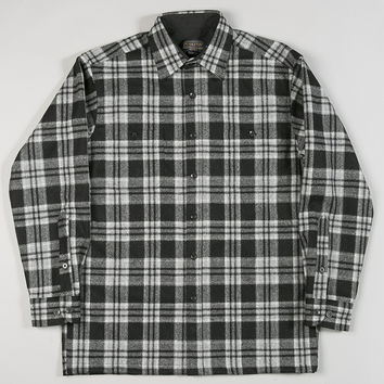 Pendleton Game Day Shirt Black Grey