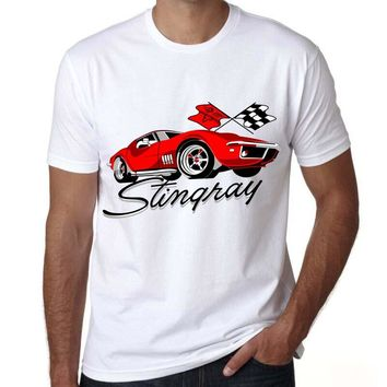 men shirt summer clothes corvette t shirt printing corvette designer funny t-shirt men modal hign quality tshirt mens tees