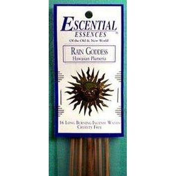Rain Goddess escential essences incense sticks 16 pack