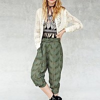 Free People Womens Got Me Twisted Harem Pant