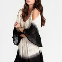 Nena Dip Dye Dress By Jen's Pirate Booty - $110.00 : ThreadSence, Women's Indie & Bohemian Clothing, Dresses, & Accessories