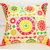 Pillow Cover 18x18 Decorative Pillow Slipcover in Fall Colors
