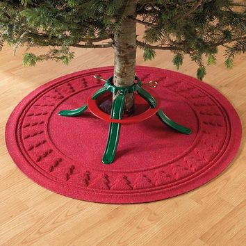 SAVE Ultra-Absorbent Waterhog Christmas Tree Mat