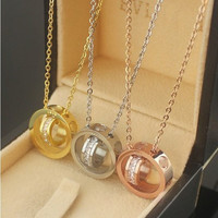Pendant Necklace Jewelry Accessories Collarbone Chain _ 8459