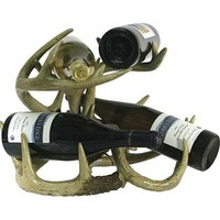 River's Edge Antler Wine Rack