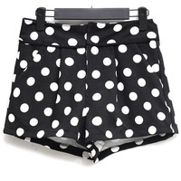 Dotted Pattern Shorts - OASAP.com