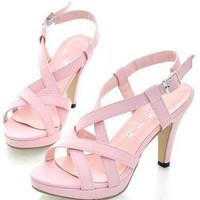 CooLcept quality high heel sandals women sexy fashion