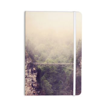 "Sylvia Coomes ""Foggy Mountain Landscape"" Brown Green Everything Notebook"