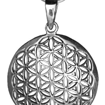 Flower of Life Pendant (Large)